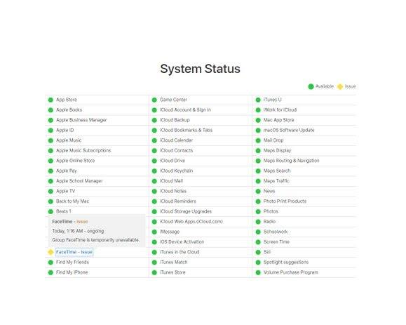 Software está indisponível para dispositivos da Apple